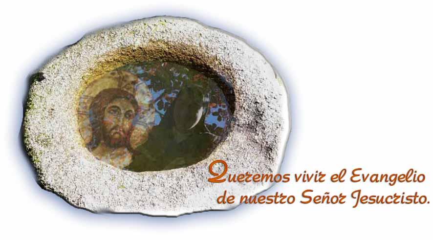 Rostro de Jesús en un espejo