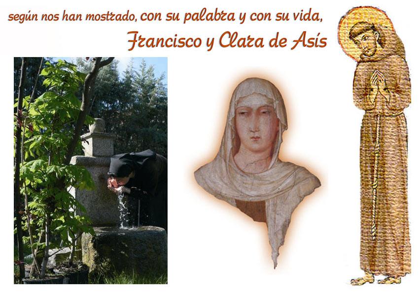 Francisco y Clara de Asís