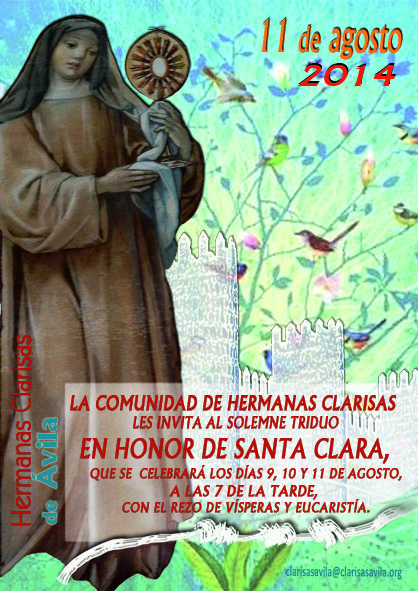 Cartel Santa Clara 2014 para movil