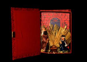 200_Libro de cartón y figuras de resina, Asís, 2009a